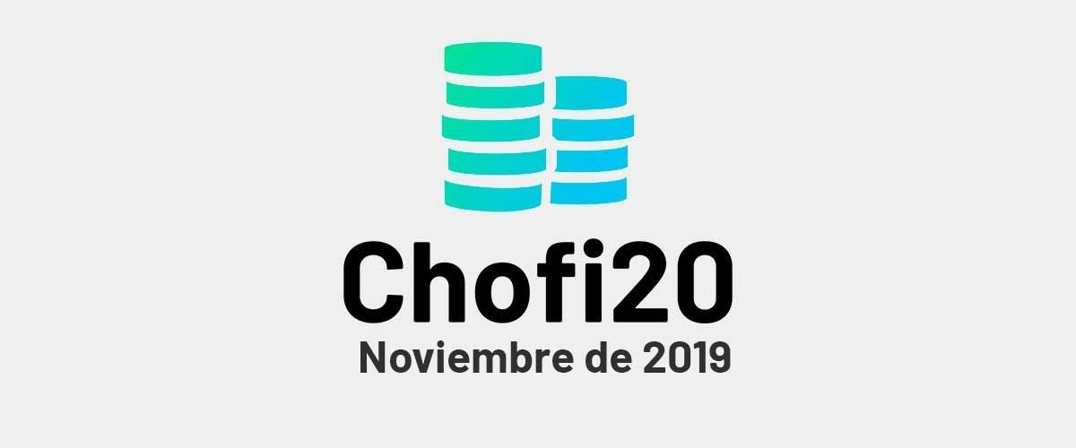Chofi 20: Noviembre 2019