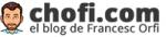 logo chofi.com blog francesc orfi