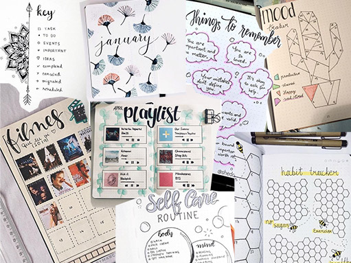 plantillas imprimibles para un bullet journal